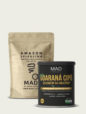 Amazon Spirulina 30g + Guaraná Cipó 250g