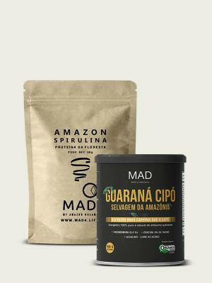 Amazon Spirulina 30g + Guaraná Cipó 100g